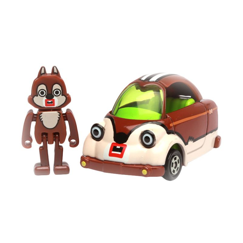 Tomica Chip Mouse Cubic Mouth Brown Diecast