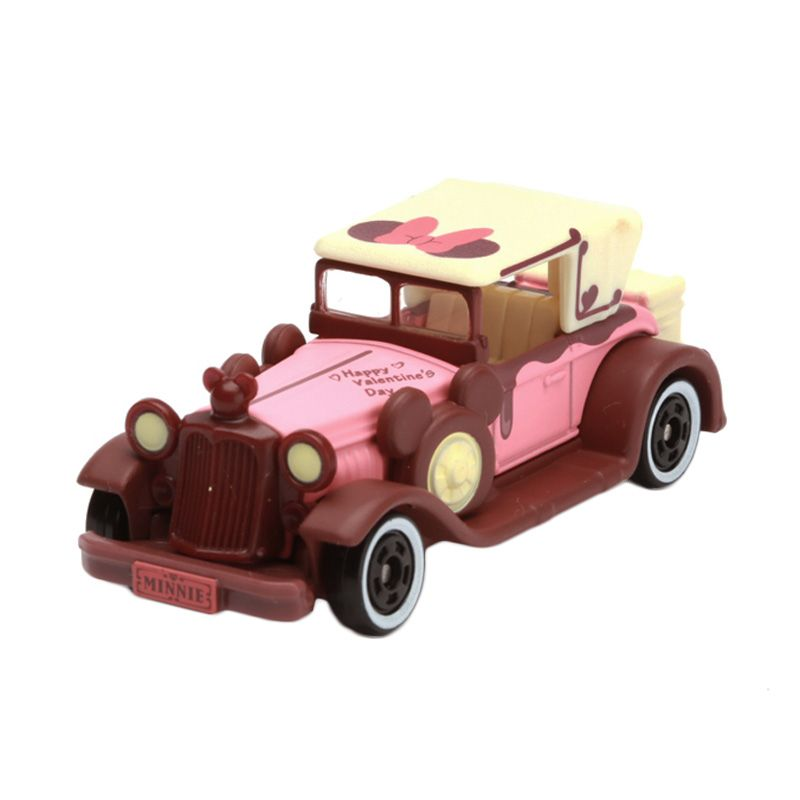 Tomica Classic Minnie Mouse Valentine Edt Pink Diecast