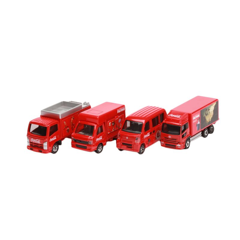 Tomica Coca Cola Happiness Factory Red Diecast