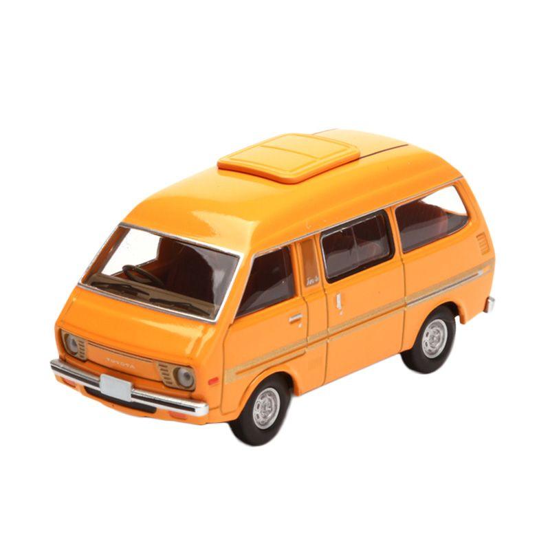Tomica Daihatsu Delta Wide Wagon Orange Diecast
