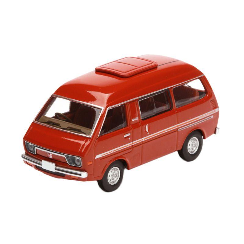 Tomica Daihatsu Delta Wide Wagon Red Diecast