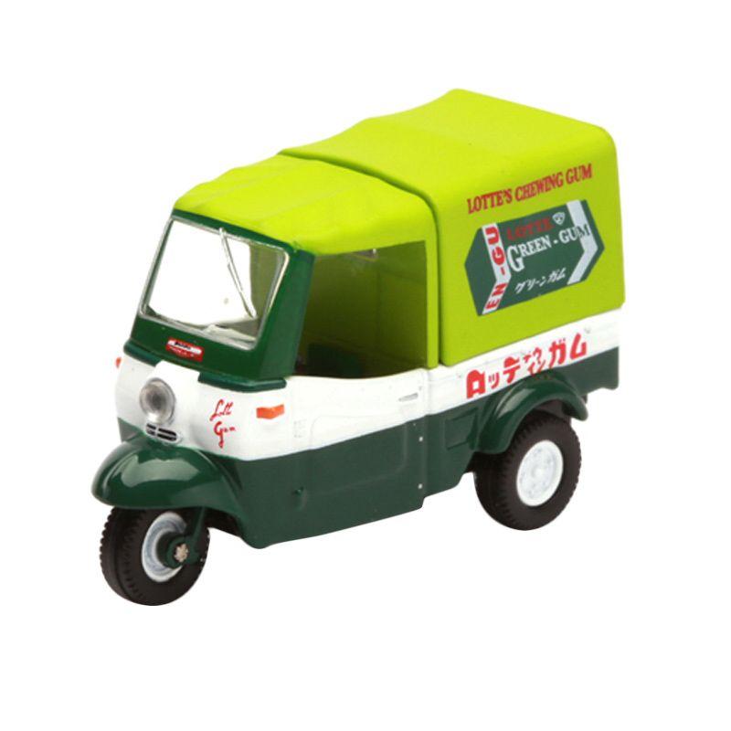 Tomica Daihatsu Midget Dark Green Diecast
