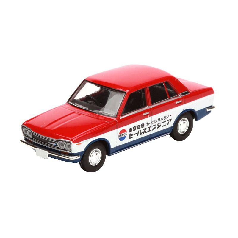 Tomica Datsun Bluebird 1300 Standard Red Diecast