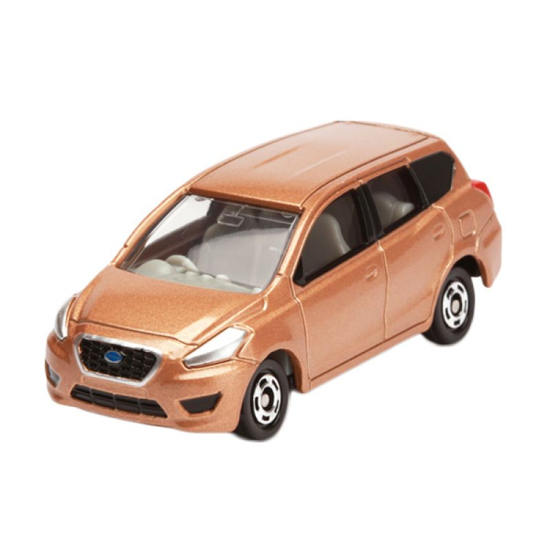 Tomica Datsun Go+ Brown Diecast