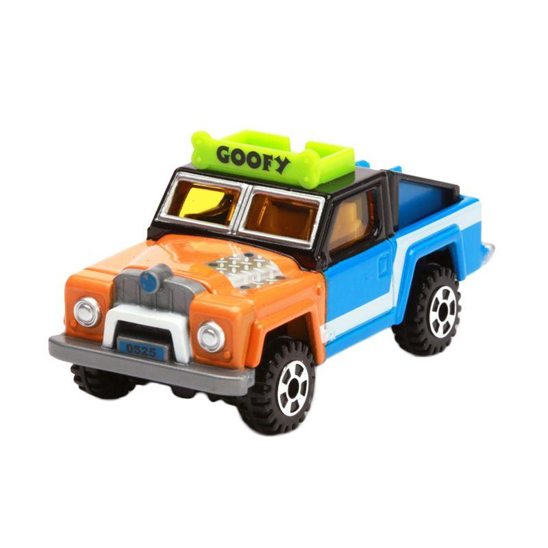 Tomica Ex-Cruiser Jeep Goofy Orange Diecast [1:64]