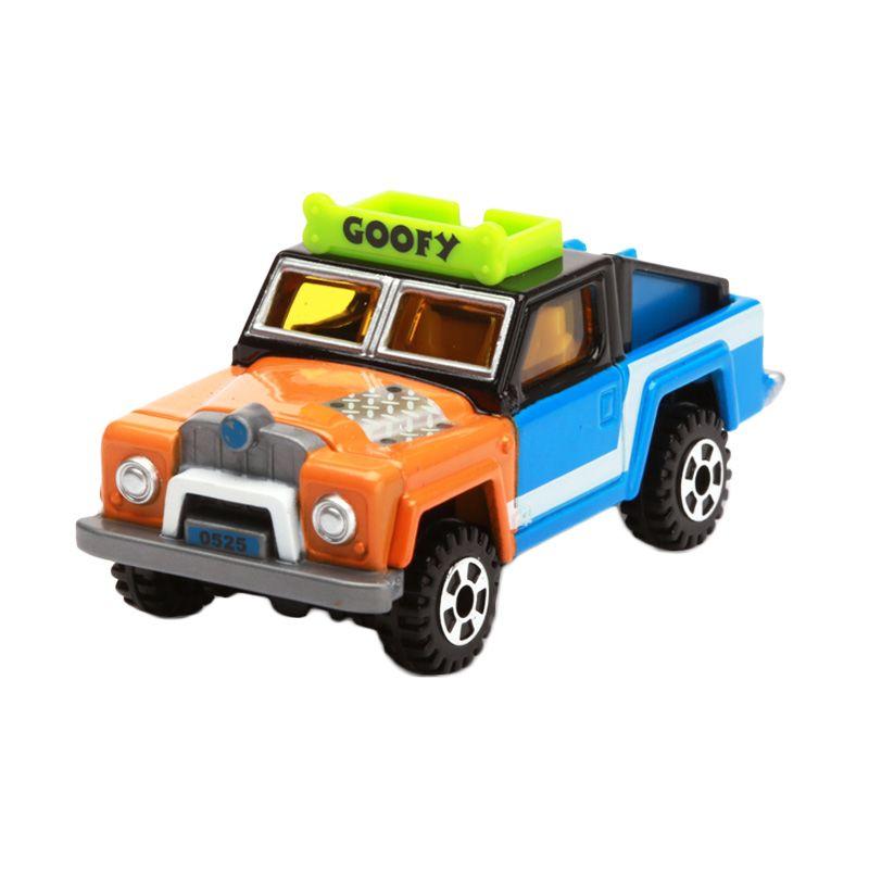 Tomica Ex-Cruiser Jeep Goofy Orange Diecast