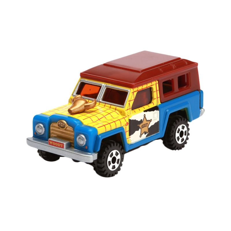 Tomica Ex-Cruiser Jeep Woody Blue Diecast