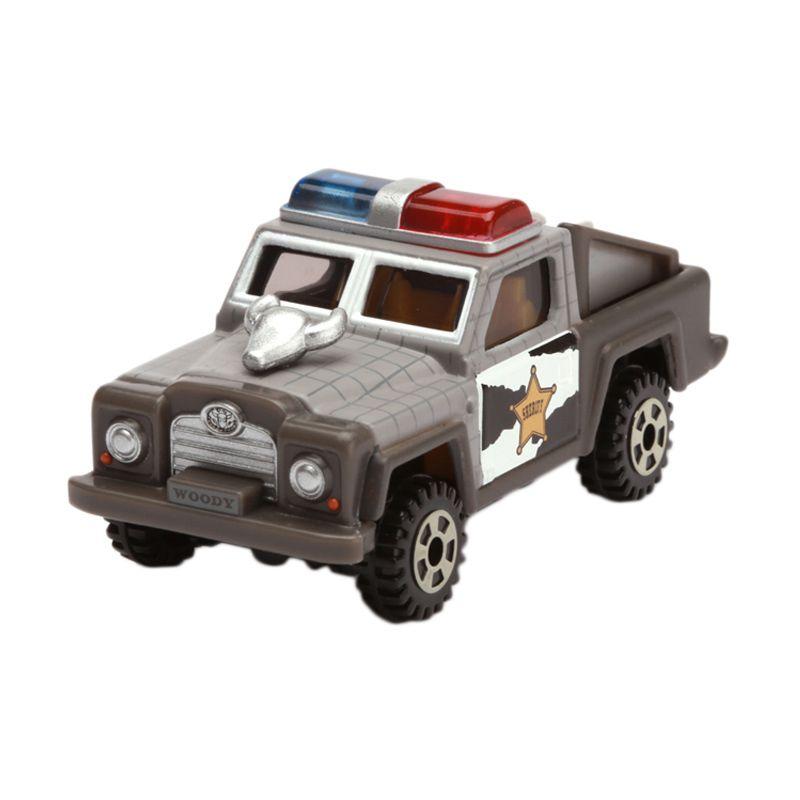 Tomica EX-Cruiser Patrol Car Woody Gray Diecast