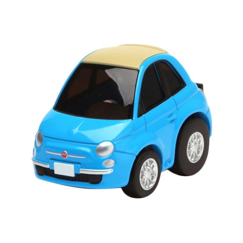 Tomica Fiat 500C Blue Diecast