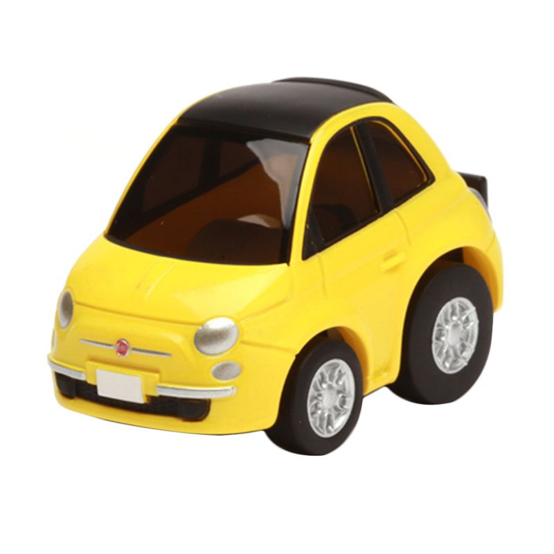 Tomica Fiat 500C Yellow Diecast