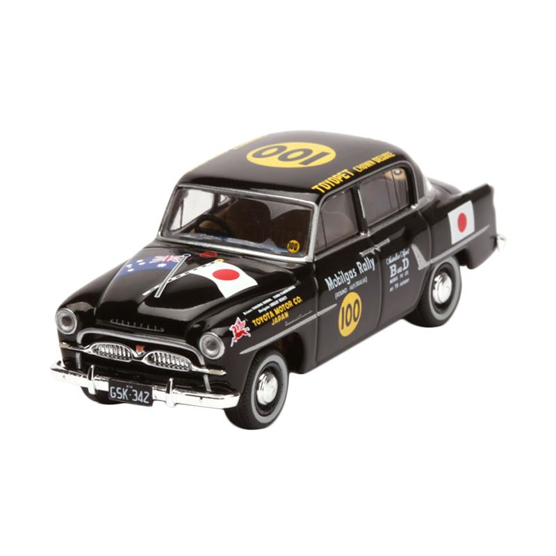 Tomica Generation of Japanese Car 4 Crown Mobilgas Rally Car Black Diecast [1:64]