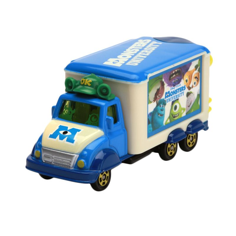 Tomica George Float Monsters University Blue Diecast