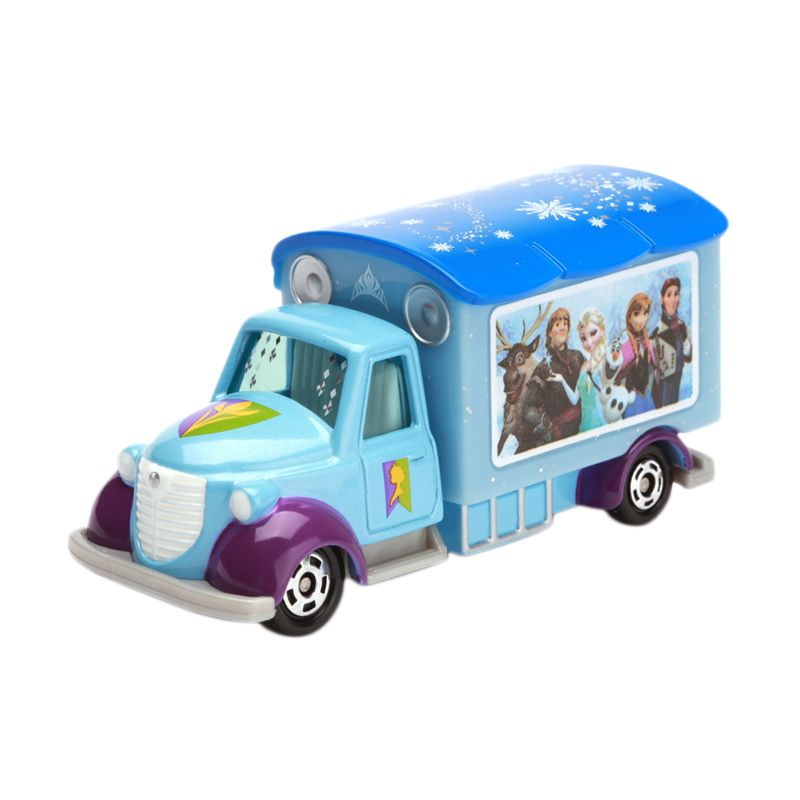 Tomica Goody carry Ana & the Snow Queen Blue Diecast
