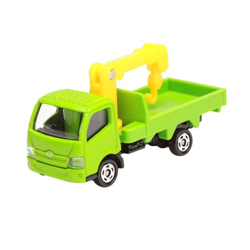 harga Tomica Hino Dutro Truck Crane Green Diecast Blibli.com