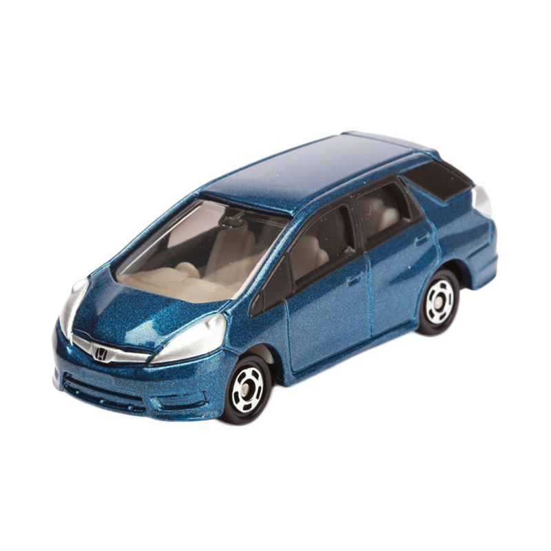 Tomica Honda Fit Shuttle Blue Diecast