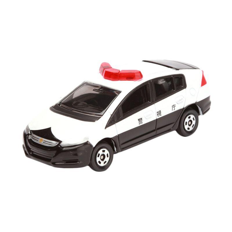 Tomica Honda Insight Patrol Car White Diecast