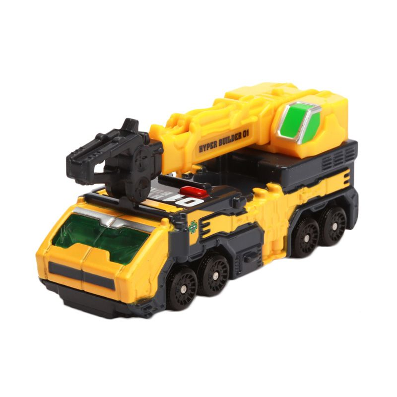 Tomica Hyper Builder 2011 Yellow Diecast