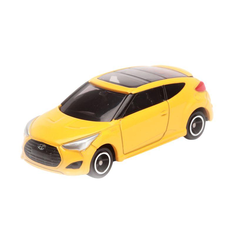 Tomica Hyundai Veloster Turbo Yellow Diecast