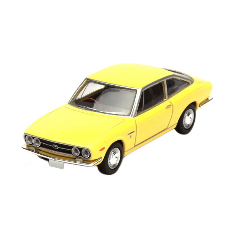 Tomica Isuzu 117 Coupe Yellow Diecast [1:64]