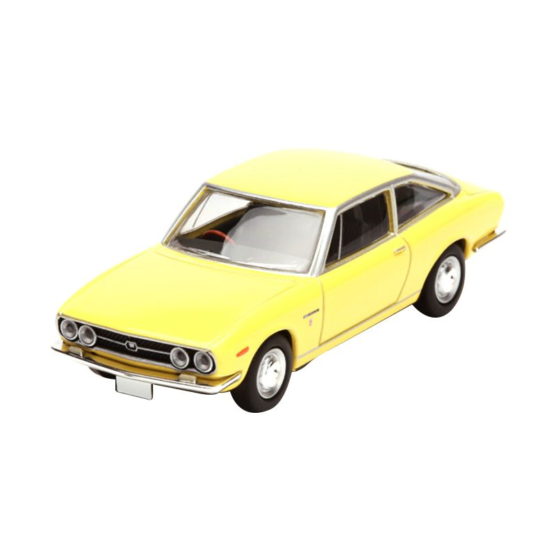 Tomica Isuzu 117 Coupe Yellow Diecast