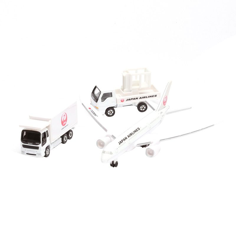 Tomica JAL 788 Airport Set White Diecast