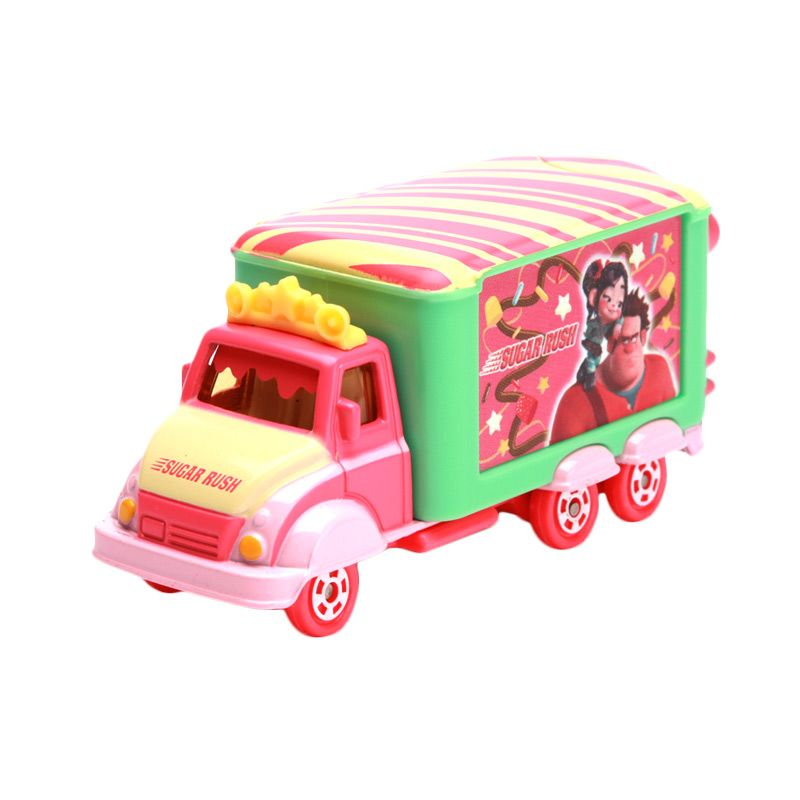 Tomica Jolly Float Sugar Rush Pink Diecast