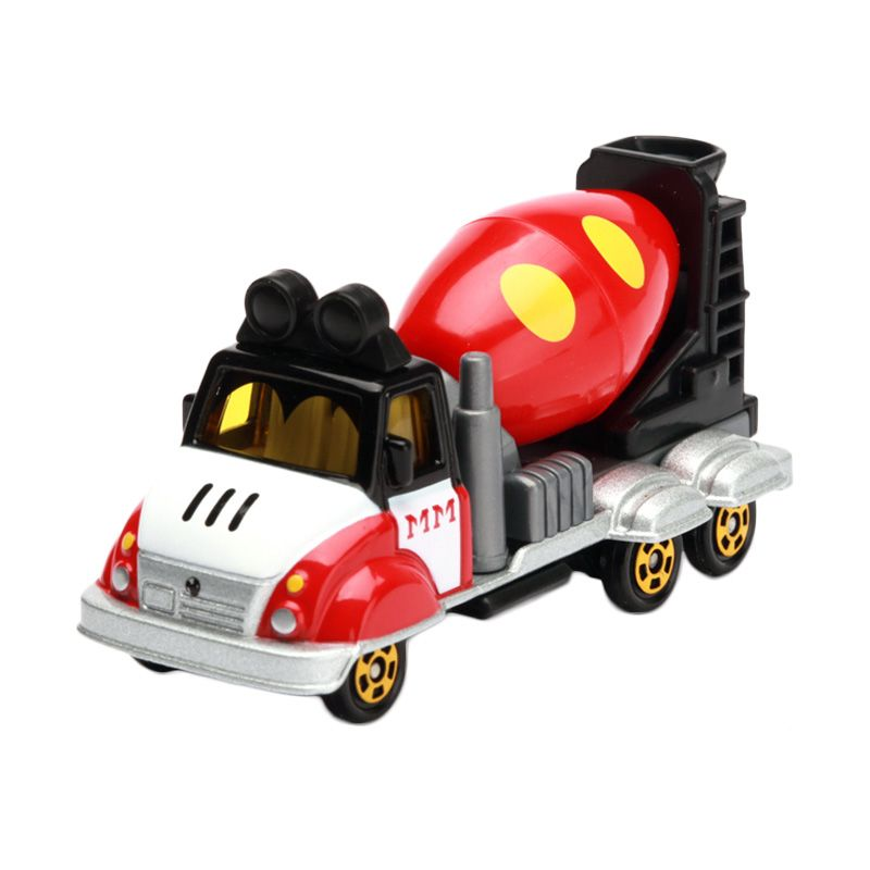 Tomica Jolly Mixer Mickey Mouse Red Diecast [1:64]