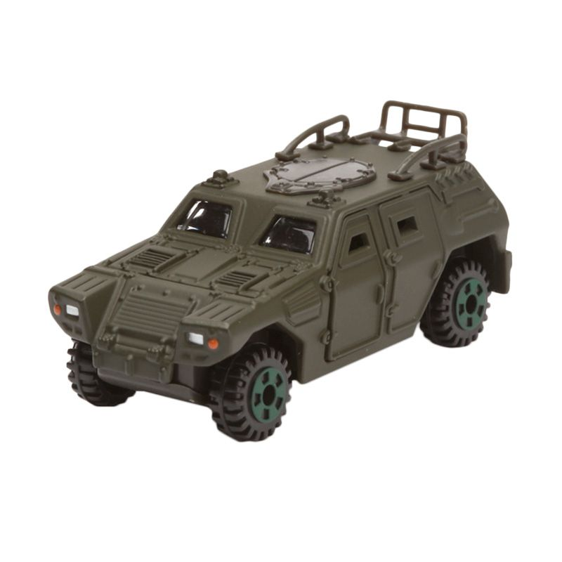 Tomica JSDF Light Armoured Vehicle Green Diecast