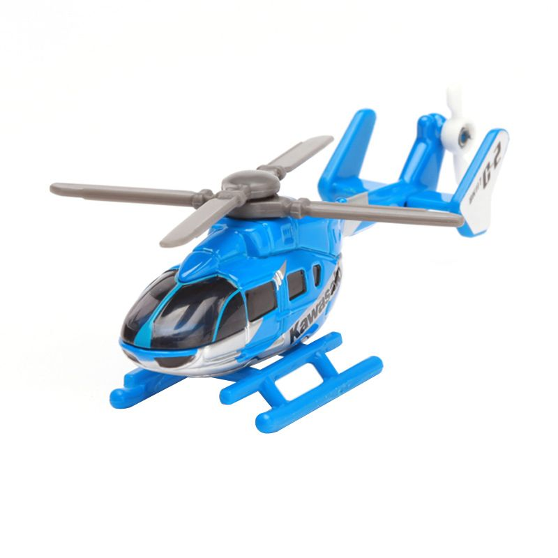 Tomica Kawasaki BK117 C-2 Helicopter Blue Diecast