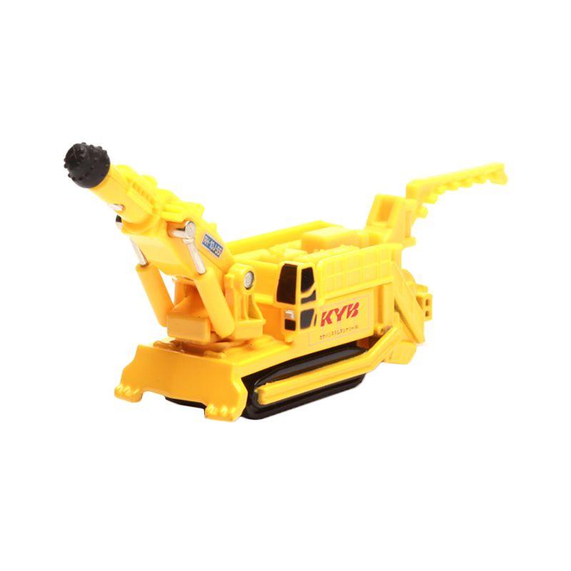 Tomica Kayaba System Machinery Boomheader RH-10J-SS Yellow Diecast [1:64]