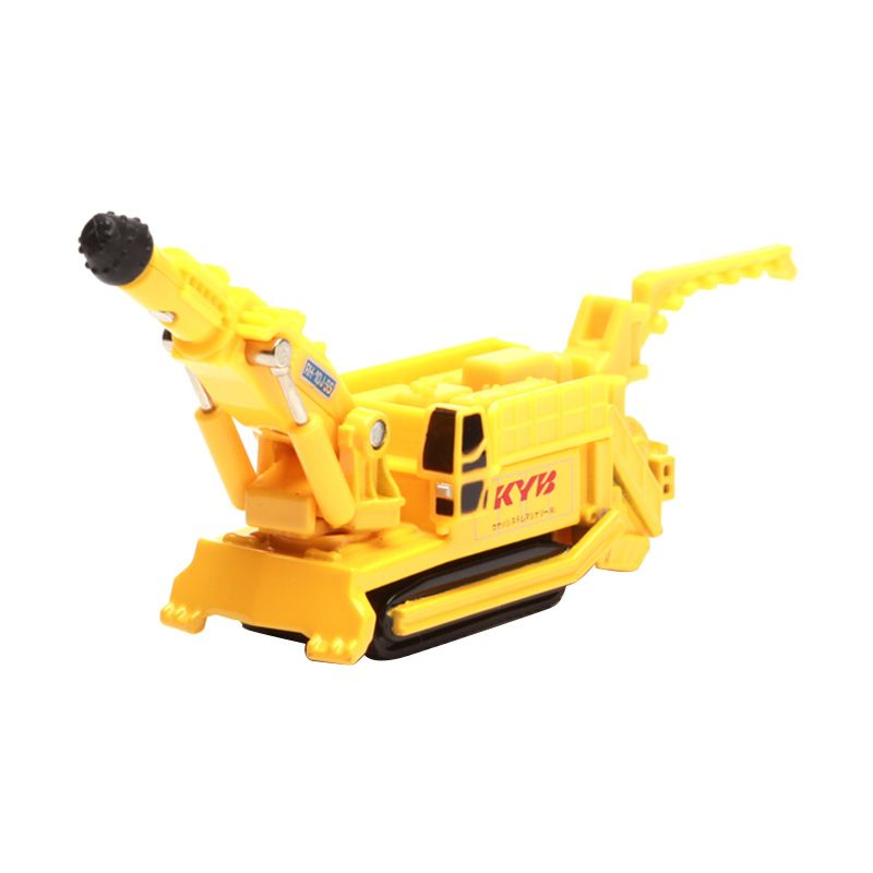 Tomica Kayaba System Machinery Boomheader RH-10J-SS Yellow Diecast