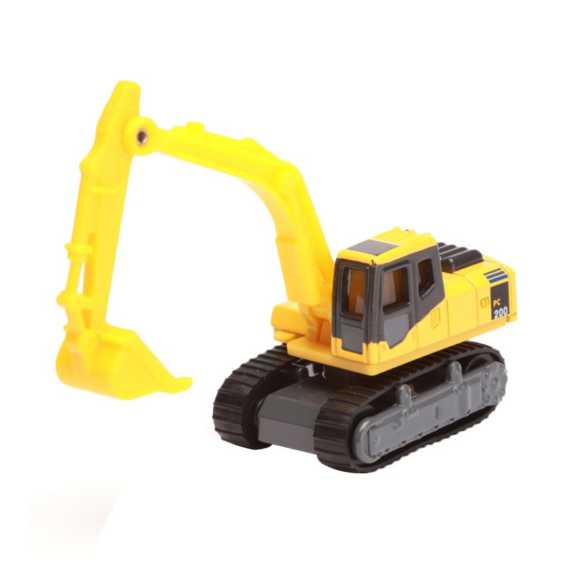 Tomica Komatsu Power Shovel PC200 Galeo Yellow Diecast