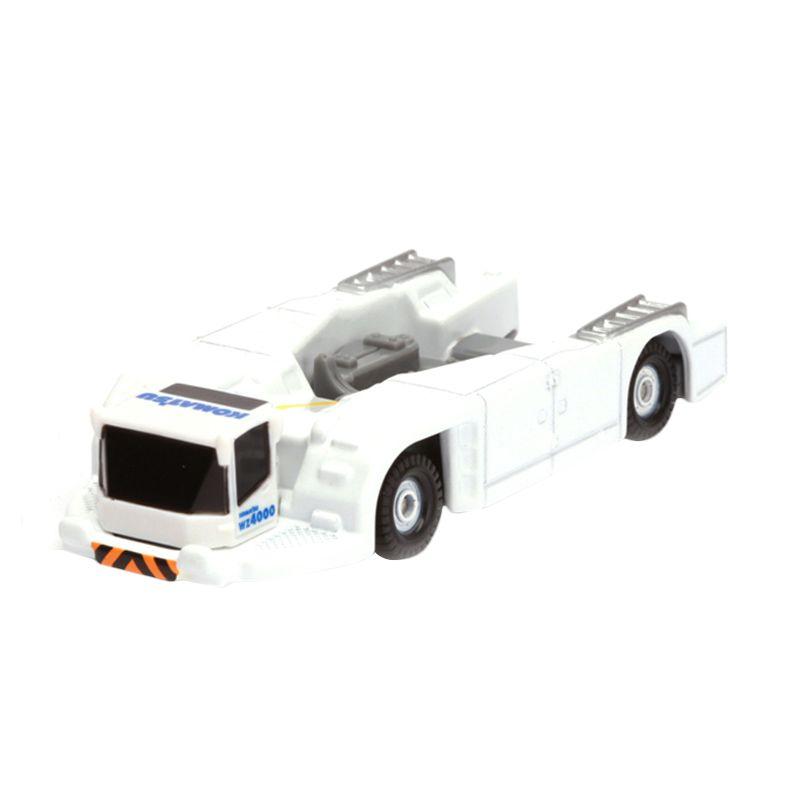 Tomica Komatsu Townbarless Tractor WZ4000 White Diecast [1:64]