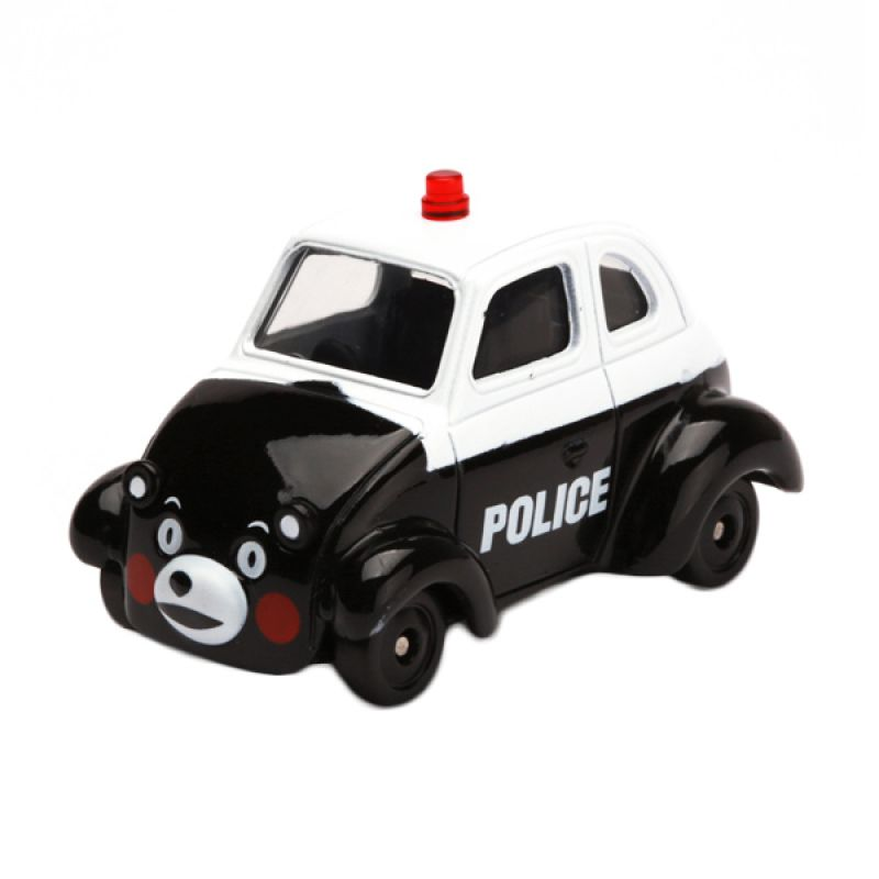Tomica Kunamon No Patrol Car White Diecast