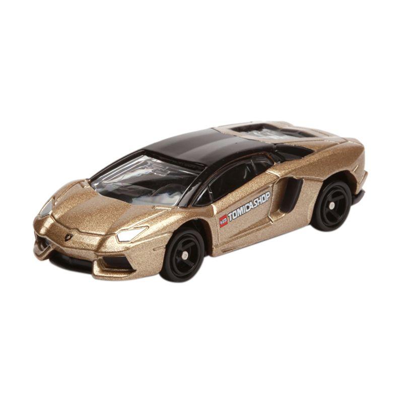 Tomica Lamborghini Aventador Gold Diecast
