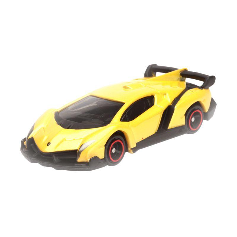 Tomica Lamborghini Veneno Yellow Yellow Diecast