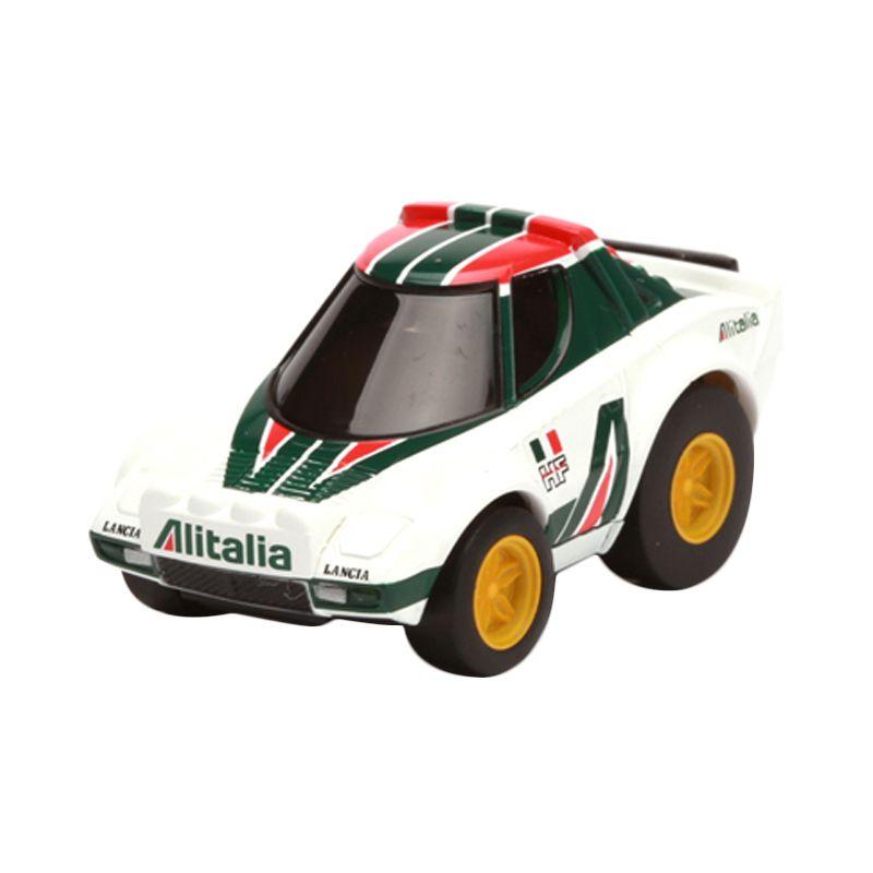 Tomica Lancia Stratos Rally White Diecast [1:64]