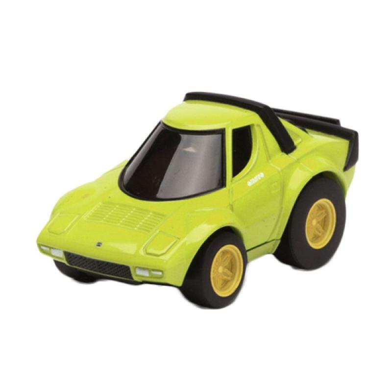 Tomica Lancia Stratos Yellow Diecast