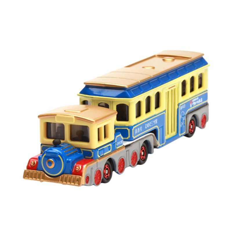 Tomica Locomotive Type Bus Seishungo Yellow Diecast