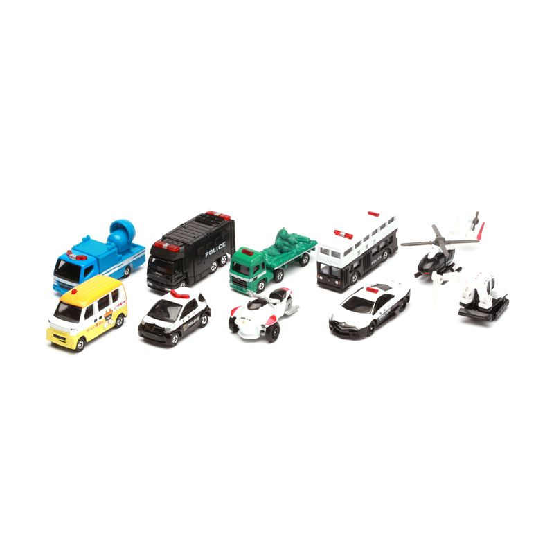 Tomica Lottery Tomica 10 pcs Mix Diecast