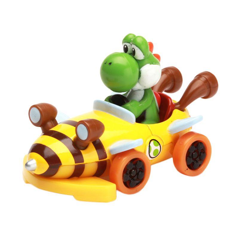 Tomica Mario Kart 7 Yoshi Yellow Diecast