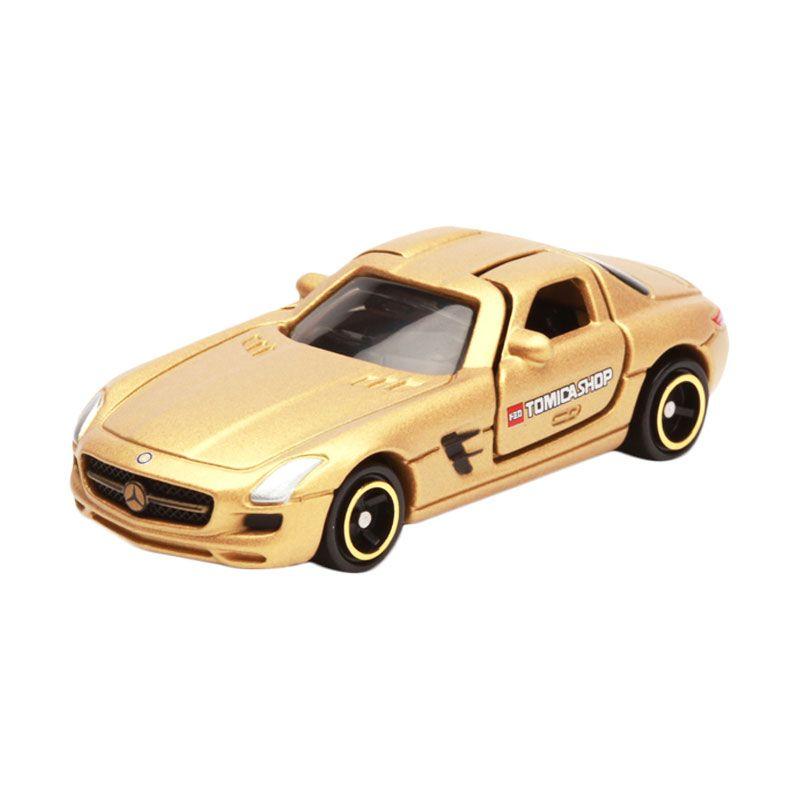 Tomica Mercedes Benz SLS AMG Gold Diecast