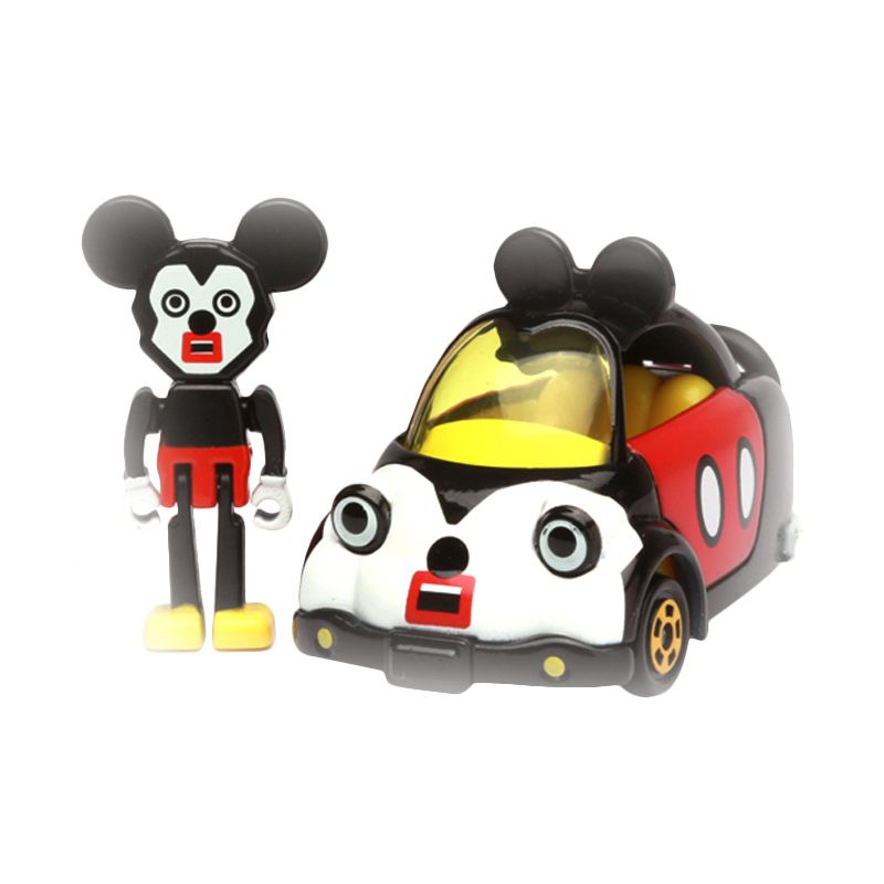 Tomica Mickey Mouse Cubic Mouth Red Diecast