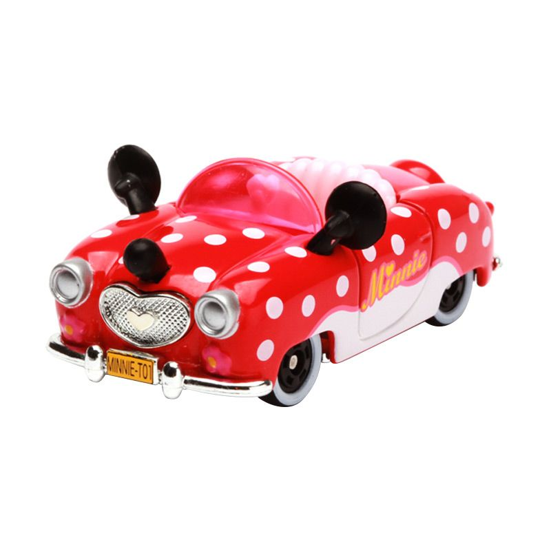Tomica Minnie Convertible Red Diecast