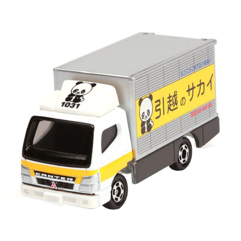 Tomica Mitsubishi Fuso Canter Sakai Moving Service White Diecast