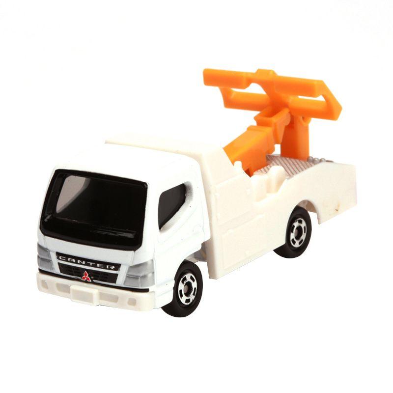 Tomica Mitsubishi Fuso Canter Tow Truck White Diecast