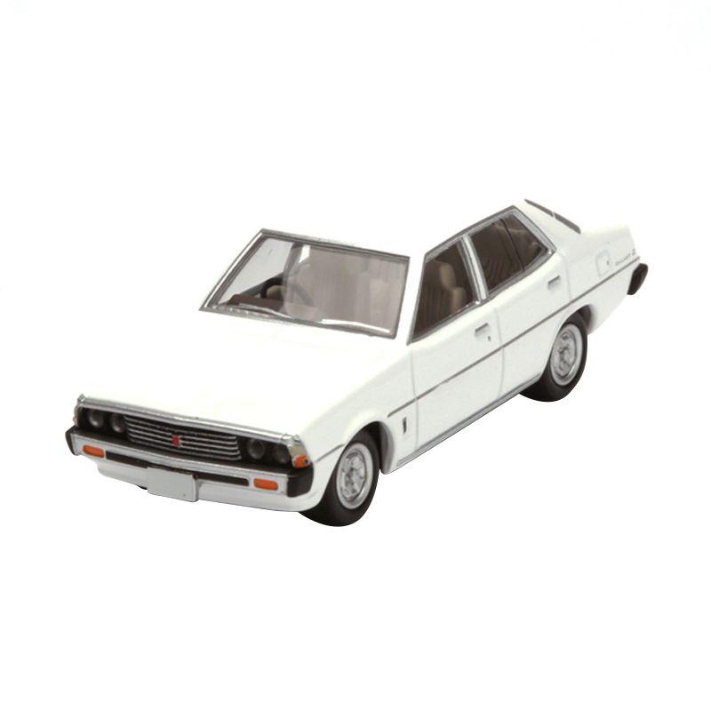 Tomica Mitsubishi Galant E Super Saloon White Diecast