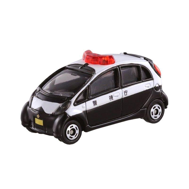 Tomica Mitsubishi I-Miev Police Car Black Diecast