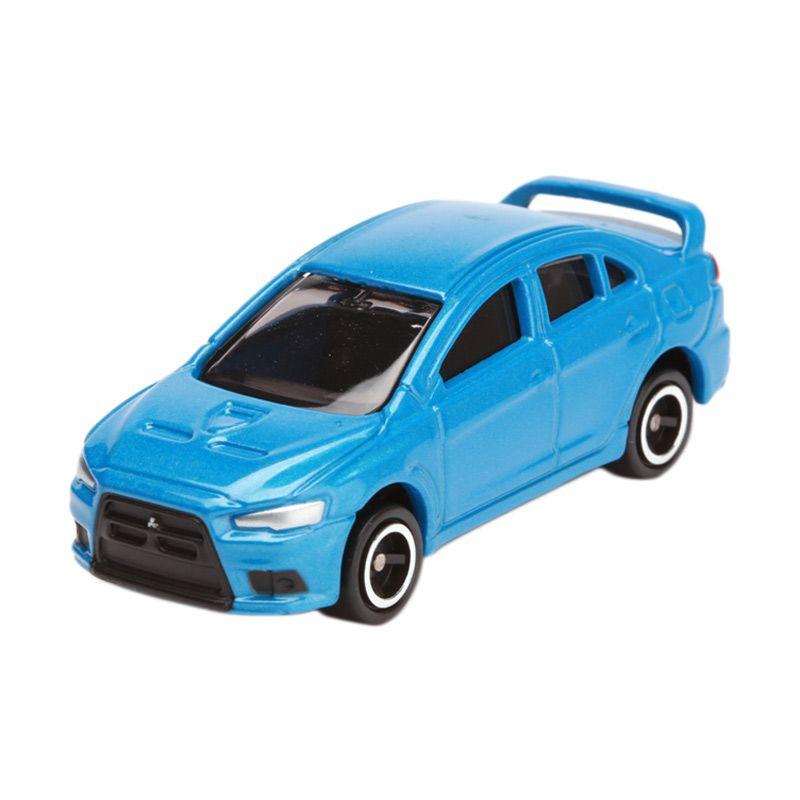 Tomica Mitsubishi Lancer Evolution Blue Diecast [1:64]