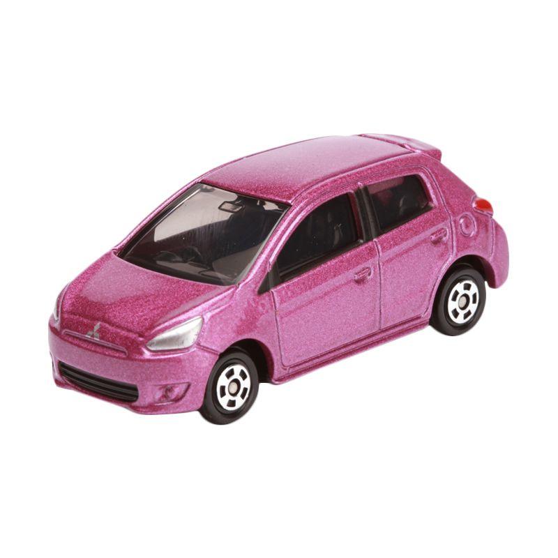 Tomica Mitsubishi Mirage Pink Diecast